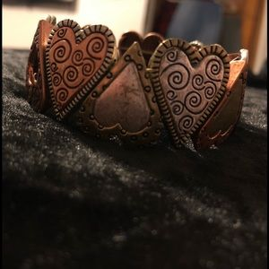 Lia Sophia Rustic Heart Bracelet